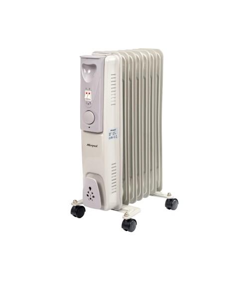 Elektrický přenosný radiátor.