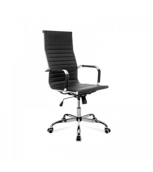 Ergonomická kancelářská židle - klasická černá barva