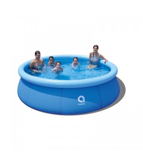 Samonosný zahradní bazén je skvělým místem k odpočinku v soukromí vašeho domova a také atraktivním místem na zábavu.