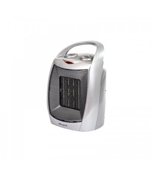 Malý elektrický ventilátorový ohřívač s keramickým topidlem