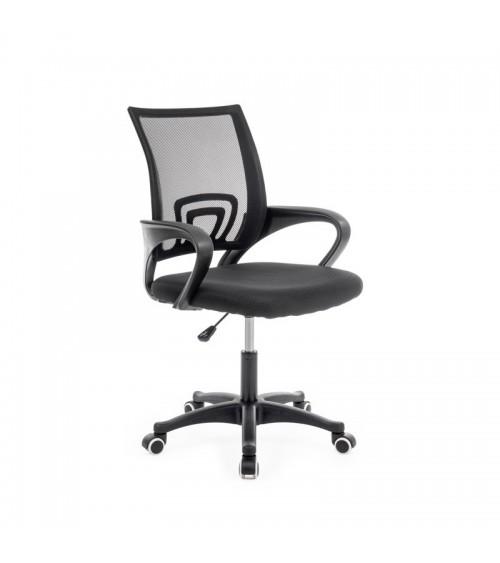 Ergonomické kancelářské křeslo v černé barvě