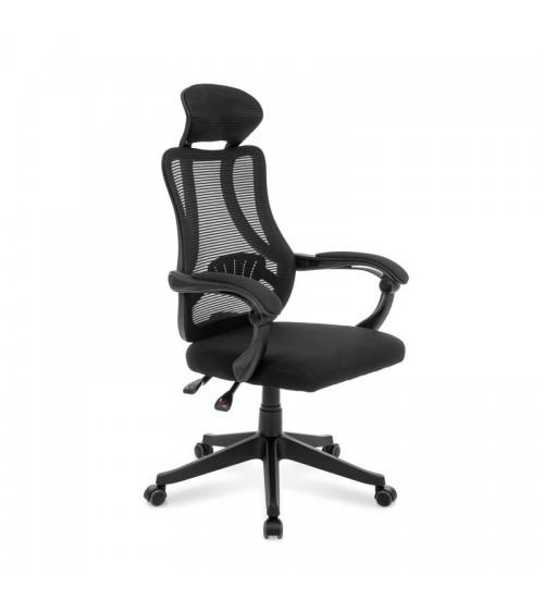 Ergonomická kancelářská židle s možností nastavení výšky i úhlu opěradla.