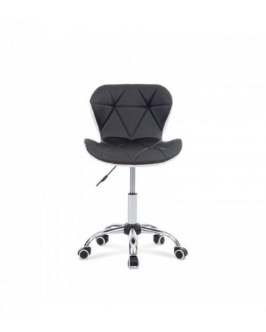 Černo-bílá kancelářská židle