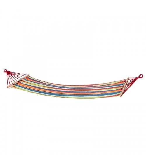 Houpací síť s tyčemi pro jednu osobu - skvělý způsob na relaxaci